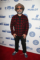LOS ANGELES, CA - NOVEMBER 7: Mr. Brainwash, at Photo Op For Hulu's 'Obey Giant at the The Theatre at Ace Hotel in Los Angeles, California on November 7, 2017. <br /> CAP/MPI/FS<br /> &copy;FS/MPI/Capital Pictures