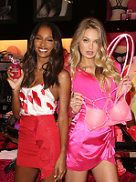 LOS ANGELES, CA - FEBRUARY 7: Jasmine Tookes and Romee Strijd, pictured as Victoria&rsquo;s Secret celebrates self-love this Valentine&rsquo;s Day at the Beverly Center Victoria&rsquo;s Secret Store Thursday, February 7, 2019 in Los Angeles, California.   <br /> CAP/MPI/SAD<br /> &copy;SAD/MPI/Capital Pictures