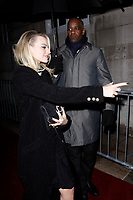 LONDON, ENGLAND - FEBRUARY 09 :  Margot Robbie leaves the Charles Finch and Chanel pre-BAFTA party at Loulou's on February 09, 2019 in London, England.<br /> CAP/AH<br /> &copy;Adam Houghton/Capital Pictures