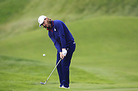 Tommy Fleetwood (Team Europe) on the 7th during Friday Fourball at the Ryder Cup, Le Golf National, Iles-de-France, France. 28/09/2018.<br /> Picture Thos Caffrey / Golffile.ie<br /> <br /> All photo usage must carry mandatory copyright credit (© Golffile | Thos Caffrey)