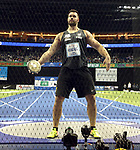14.02.2020, Mercedes Benz Arena, Berlin, GER, ISTAF-Indoor 2020 Berlin, im Bild <br /> Discus Men<br /> Martin Wierig (GER)<br /> <br />      <br /> Foto © nordphoto / Engler