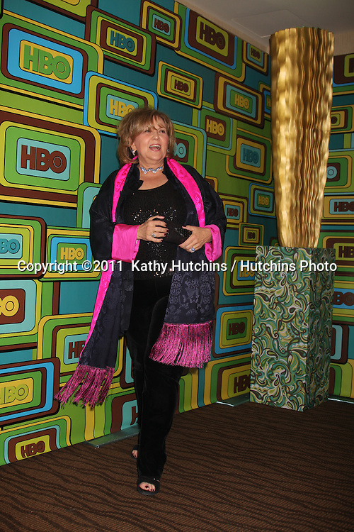 LOS ANGELES - JAN 16:  Brenda Vacarro arrives at the HBO Golden Globe Party 2011 at Circa 55 at the Beverly Hilton Hotel on January 16, 2011 in Beverly Hills, CA