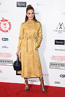 Elizabeth Chambers<br /> arriving for the Critic's Circle Film Awards 2018, Mayfair Hotel, London<br /> <br /> <br /> ©Ash Knotek  D3374  28/01/2018
