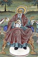 BG41189.JPG BULGARIA, RILA MONASTERY, CHURCH OF NATIVITY, frescoes