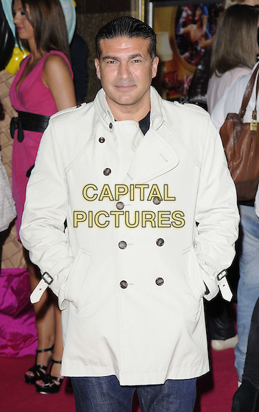 Tamer Hassan.'Katy Perry: Part of Me 3D' european film premiere, Empire cinema, Leicester Square, London, England..3rd July 2012.half length jacket hands in pockets white beige.CAP/CAN.©Can Nguyen/Capital Pictures.
