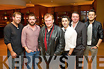 Dermot Kelly, Ian O'Doherty, Francie Conway, Mickey Harte, Mark Leen and Gary Keane, pictured at the opening of the Christy Hennessy weekend, held in the Carlton Hotel, Tralee on Friday evening.