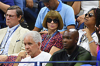 FLUSHING NY- AUGUST 30: Anna Wintour seen Serena Williams Vs Ekaterina Kakarova on Arthur Ashe Stadium at the USTA Billie Jean King National Tennis Center on August 30, 2016 in Flushing Queens. Credit: mpi04/MediaPunch