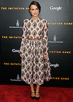 "New York Premiere Of The Weinstein Company's ""The Imitation Game"""