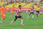 CARTAGENA – COLOMBIA _ 23-03-2014 / En juego correspondiente a la decimosegunda fecha del Torneo Apertura Colombiano 2014, Atlético Junior venció 1 – 0 a Envigado FC en el estadio Jaime Morón de Cartagena. /