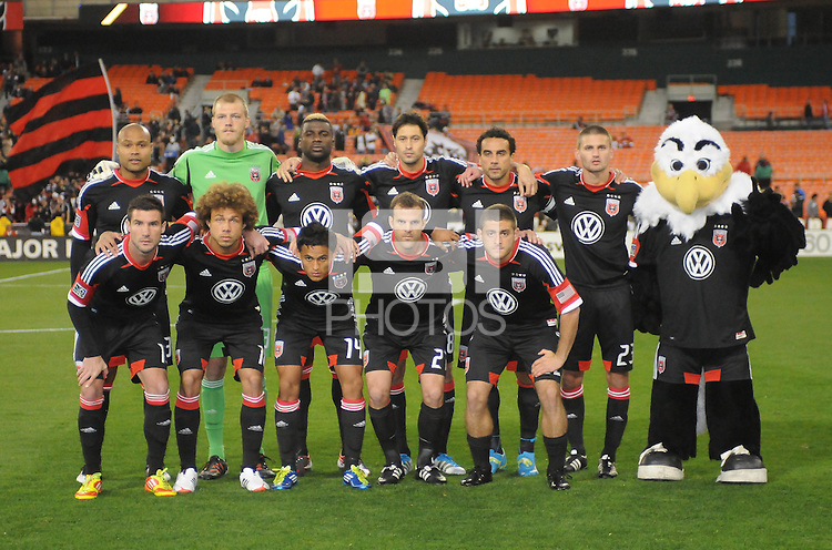 D.C. United starting eleven.  D.C. United tied The Montreal Impact 1-1, at RFK Stadium, Wednesday April 18 , 2012.