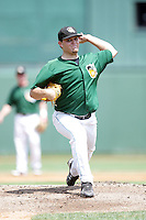 August 9, 2009: Wade Miley of the South Bend Silver Hawks at Covelski Stadium in South Bend, IN. The Silver Hawks are the Low class affiliate of the Arizona Diamondbacks  Photo by: Chris Proctor/Four Seam Images