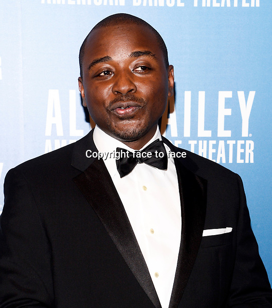 NEW YORK, NY - DECEMBER 04: Artistic Director of Alvin Ailey Robert Battle pictured at Alvin Ailey's Opening Night Gala at New York City Center, on December 4, 2013 in New York City. Credit: RTNPluvious/MediaPunch Inc.<br /> Credit: MediaPunch/face to face<br /> - Germany, Austria, Switzerland, Eastern Europe, Australia, UK, USA, Taiwan, Singapore, China, Malaysia, Thailand, Sweden, Estonia, Latvia and Lithuania rights only -