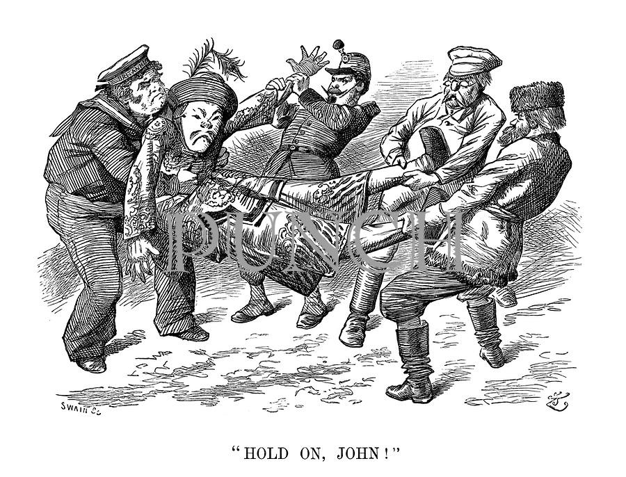 """""""Hold on, John!"""""""