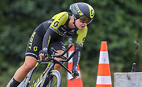 Georgia Williams, new womens champion, BDO Elite Road National Championships - Time Trials,  New Zealand. Friday, 05 January,  2018. Copyright photo: John Cowpland / www.photosport.nz