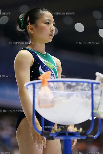 Asuka Teramoto (JPN), JUNE 9, 2013 - Artistic gymnastics : The 52nd NHK Cup, Women's Individual All-Around final round at Yoyogi 1st Gymnasium, Tokyo, Japan. (Photo by Yusuke Nakanishi/AFLO SPORT)
