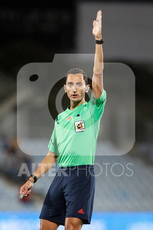 Spanish referee Sanchez Martinez during La Liga match.September 18,2015. (ALTERPHOTOS/Acero)