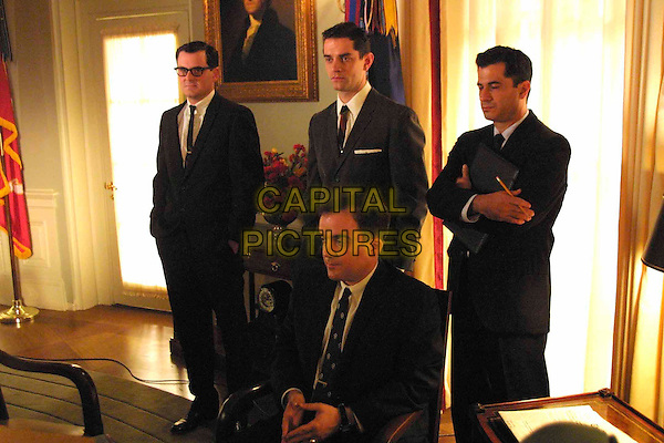 CHRIS EIGEMAN, JAMES FRAIN, ROBERT CHICCHINI & JACK VALENTI.in Path To War.Ref: FB.*Editorial use only*.www.capitalpictures.com.sales@capitalpictures.com.Supplied by Capital Pictures...
