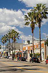Abbot Kinney has become a hip shopping district in Venice,California