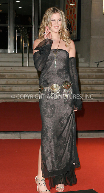 WWW.ACEPIXS.COM . . . . .  ... . . . . US SALES ONLY . . . . .....LONDON, FEBRUARY 9, 2005....Joss Stone at the 25th Brit Awards, Earls Court.....Please byline: FAMOUS - ACE PICTURES - F. DUVAL... . . . .  ....Ace Pictures, Inc:  ..Philip Vaughan (646) 769-0430..e-mail: info@acepixs.com..web: http://www.acepixs.com