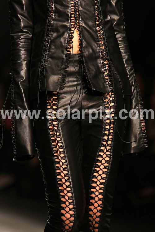 **ALL ROUND PICTURES FROM SOLARPIX.COM**                                             **WORLDWIDE SYNDICATION RIGHTS**                                                                                  The Mark Last collection during London Fashion Week 2011, UK on 21st February, 2011.                                                                    This pic:  Mark Last catwalk                                                                                         JOB REF:     12863   MLW       DATE:    21.02.11                                                       **MUST CREDIT SOLARPIX.COM OR DOUBLE FEE WILL BE CHARGED**                                                                      **MUST AGREE FEE BEFORE ONLINE USAGE**                               **CALL US ON: +34 952 811 768 or LOW RATE FROM UK 0844 617 7637**