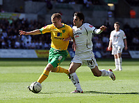 Pictured: Jordi Gomez of Swansea City in action <br /> Re: Coca Cola Championship, Swansea City FC v Norwich City FC at the Liberty Stadium Swansea, south Wales. Saturday 11 April 2009.<br /> Picture by D Legakis Photography / Athena Picture Agency, Swansea 07815441513