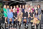 Nicola Daly Glenflesk seated centre who celebrated her 30th birthday with her friends and family in the Ross Hotel Killarney on Saturday night front row l-r: Brendan, Theresa, Nicola Daly, Shay Nolan, Doireann Daly and Danielle Favier. Back row: Marie Moynihan, Aine O'donoghue, Margaret McCarthy, Peggy daly, Juliet Brosnan, Liz Daly, Eileen O'Leary, Edel Daly, Siobhain McCarthy, Kathleen Daly, Peggy O'Connor and Aoife Nolan