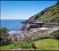 BNPS.co.uk (01202 558833)<br /> Pic: KnightFrank/BNPS<br /> <br /> The cottage at idyllic Lamorna Cove is also for sale for £875,000.<br /> <br /> Buy the View...or buy the painting.<br /> <br /> A watercolour depicting a picturesque Cornish cove has emerged for sale offering a perfect consolation prize to those who can't afford the quaint cottage for sale at the real beauty spot.<br /> <br /> The cottage at Lamorna Cove, near Penzance, has been on the market since last summer and currently has an asking price of £875,000.<br /> <br /> The fee required to purchase the breathtaking coastal plot puts it out of reach for most people but one auction house say hope is not lost.<br /> <br /> But the painting of the idyllic spot by renowned artist Dame Elizabeth Frank is to sell with Lawrence's Auctioneers who are preparing for much more modest offers of around £15,000.