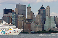 New York, Usa, Giugno 2007.I grattacieli di Manhattan.