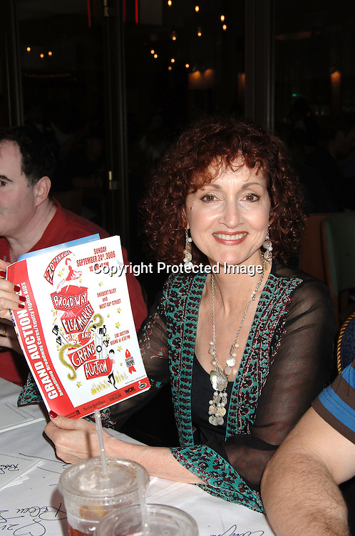 Robin Strasser..at The 20th Annual Broadway Cares/Equity Fights Aids Broadway Flea Market, Celebrity Autograph Table and Grand Auction on September 24, 2006 at Shubert Alley...Robin Platzer, Twin Images