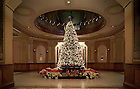 Christmas Tree in the rotunda of the Main Building..Photo by Matt Cashore/University of Notre Dame