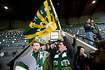 04/14/2011 - Fans celebrate opening day of the soccer season at Jeld-Wen Field Thursday as the Portland Timbers' prepare to take on Chicago opening day.