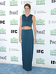Shailene Woodley<br />  attends The 2014 Film Independent Spirit Awards held at Santa Monica Beach in Santa Monica, California on March 01,2014                                                                               © 2014 Hollywood Press Agency