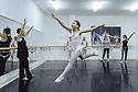 "Zadar, Croatia. 18.10.2018. Choreographer and dancer, Sanja Petrovski, teaches her 4th year ballet students in the dance department at Glazbena Skola (Music School) ""Blagoje Bersa"", in Zadar, Croatia. Photograph © Jane Hobson."