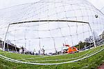 Uppsala 2014-05-07 Fotboll Superettan IK Sirius - &Ouml;stersunds FK :  <br /> Sirius Stefan Silva g&ouml;r 1-0 p&aring; straff bakom &Ouml;stersunds m&aring;lvakt Connor Ripley <br /> (Foto: Kenta J&ouml;nsson) Nyckelord:  Superettan Sirius IKS &Ouml;stersund &Ouml;FK jubel gl&auml;dje lycka glad happy remote remotekamera depp besviken besvikelse sorg ledsen deppig nedst&auml;md uppgiven sad disappointment disappointed dejected