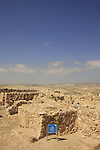 Israel, Negev. The Sacrificial Altar at the Israelite Temple in Tel Arad