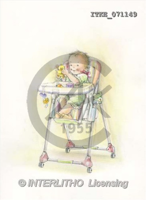 Isabella, BABIES, paintings(ITKE071149,#B#) bébé, illustrations, pinturas ,everyday