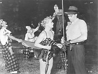 The Greatest Show on Earth (1952) <br /> Charlton Heston &amp; Betty Hutton<br /> *Filmstill - Editorial Use Only*<br /> CAP/MFS<br /> Image supplied by Capital Pictures