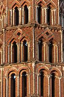 Europe/France/Midi-Pyrénées/31/Haute-Garonne/Toulouse: Basilique Saint-Sernin, étape sur le chemin de Saint-Jacques-de-Compostelle - Détail du clocher