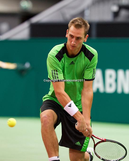 2011-02-08, Tennis, Rotterdam, ABNAMROWTT,  Thiemo De Bakker