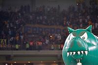 SÃO PAULO,SP, 03.03.2816 - PALMEIRAS-ROSARIO CENTRAL - Inflavel do Palmeiras sobreva o campo durante partida contra o Rosario Central, jogo válido pela segunda rodada do grupo 2 da Copa Libertadores da América, no estádio Allianz Parque em São Paulo, nesta quinta-feira, 03.  (Foto: Levi Bianco / Brazil Photo Press)