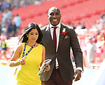 Former Arsenal defender Sol Campbell during the Emirates FA Cup Final match at Wembley Stadium, London. Picture date: May 27th, 2017.Picture credit should read: David Klein/Sportimage