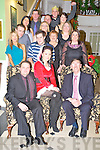 Some of the staff and management at Champs Eurospar, Killorglin, pictured at their Christmas party in the Dromhall Hotel, Killarney on Saturday night.