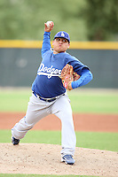 Javier Solano - Los Angeles Dodgers - 2010 Instructional League.Photo by:  Bill Mitchell/Four Seam Images..