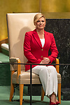 DSG meeting<br /> <br /> AM Plenary General DebateHis<br /> <br /> <br /> <br /> Her Excellency Kolinda Grabar-Kitarovic, President, Republic of Croatia