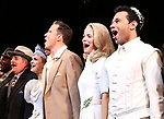 "John Pankow, Stephanie Styles, Will Chase, Kelli O'Hara, Corbin Bleu during the Broadway Opening Night Curtain Call for ""Kiss Me, Kate""  at Studio 54 on March 14, 2019 in New York City."