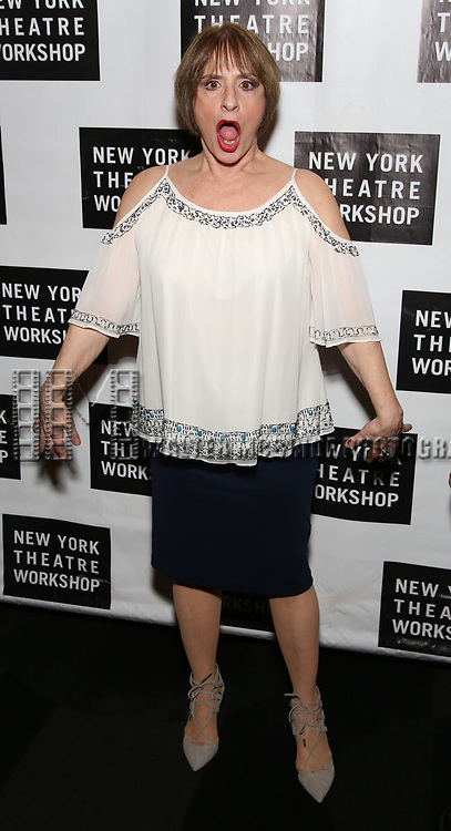 Patti LuPone attends New York Theatre Workshop's 2017 Spring Gala at the Edison Ballroom on May 15, 2017 in New York City.