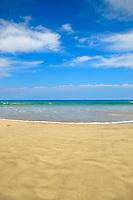 Mauna Kea beach resort, Kaunaoa beach, south Kohala coast, The Big Island of Hawaii