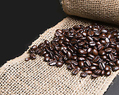 Stock photo coffee beans
