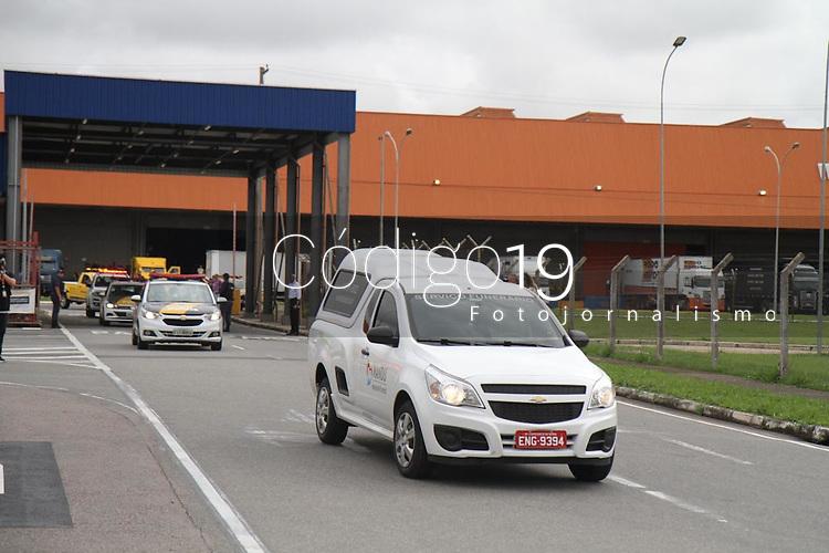 Campinas (SP), 28/11/2019 - Gugu-SP -Chegada no corpo do apresentador Augusto Liberato (Gugu) no aeroporto de Viracopos em Campinas, interior de Sao Paulo, na manha desta quinta-feira (28). (Foto: Luciano Claudino/Codigo 19/Codigo 19)