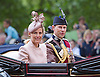 PRINCE EDWARD AND SOPHIE, COUNTESS OF WESSEX RIDE IN CARRIAGE<br /> to the Trooping of the Colour Parade at Horse Guards.<br /> The event marks the Queen's Official Birthday, The Mall, London_15th June 2013<br /> Photo Credit: &copy;Reynolds/NEWSPIX INTERNATIONAL<br /> <br /> **ALL FEES PAYABLE TO: &quot;NEWSPIX INTERNATIONAL&quot;**<br /> <br /> PHOTO CREDIT MANDATORY!!: NEWSPIX INTERNATIONAL<br /> <br /> IMMEDIATE CONFIRMATION OF USAGE REQUIRED:<br /> Newspix International, 31 Chinnery Hill, Bishop's Stortford, ENGLAND CM23 3PS<br /> Tel:+441279 324672  ; Fax: +441279656877<br /> Mobile:  0777568 1153<br /> e-mail: info@newspixinternational.co.uk
